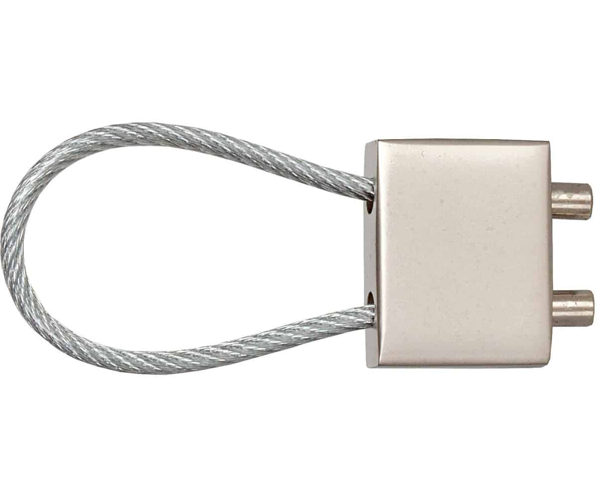 Schlüsselanhänger Stahlseil