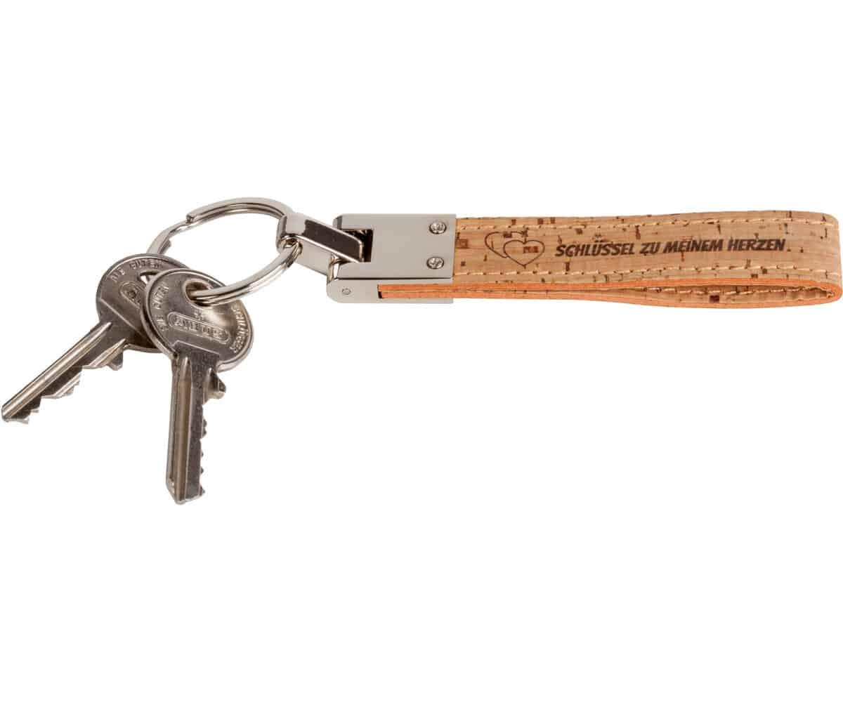 Schlüsselanhänger Korkband